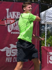 James van Deinse is a co-owner of Vero Beach Tennis and Fitness Club and the tennis coach at Vero Beach High School.