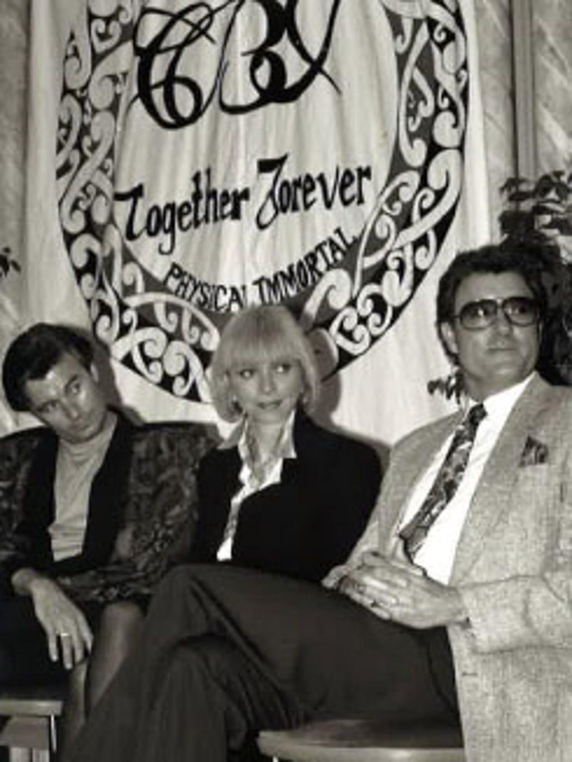 "(Left to right) James Strole, Bernadeane ""Bernie"" Brown"