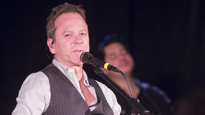 Kiefer Sutherland enjoyed in his time in Milwaukee ahead of his Shank Hall performance. This photo is from a previous Shank Hall performance on April 14, 2016.