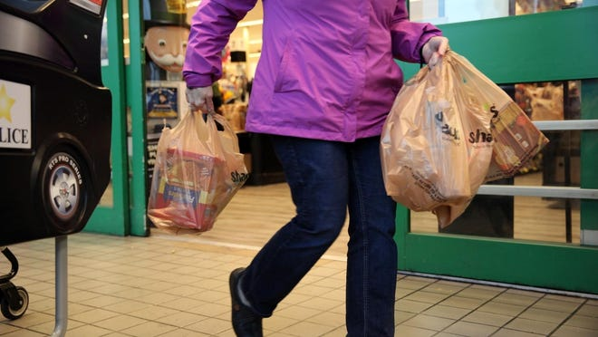 Franklin's bylaw banning plastic bags was to go in effect on July 1.