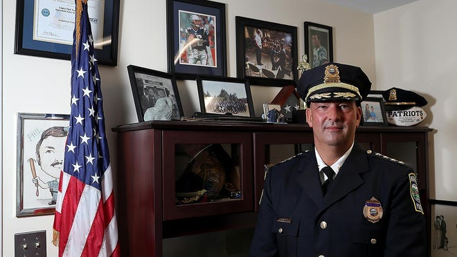 Marshfield Police Chief Phil Tavares.