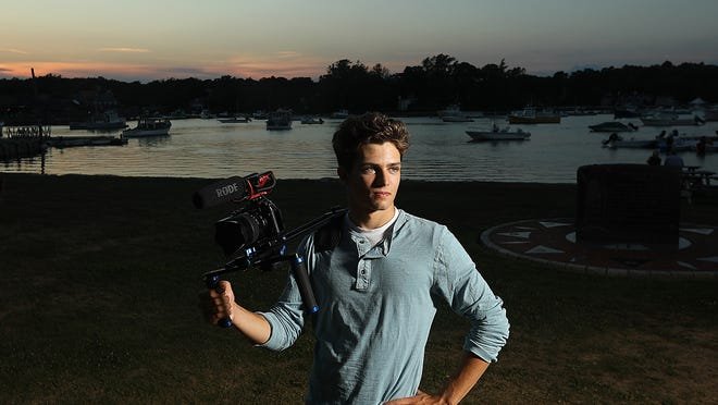 Cohasset High graduate Jason Conforti is an aspiring filmmaker who plans on entering a film festival before continuing his education at the Savannah College of Art and Design after the fall semester.