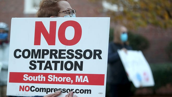 The Fore River Residents Against the Compressor Station are vowing to continue their opposition to the facility with a new petition drive.