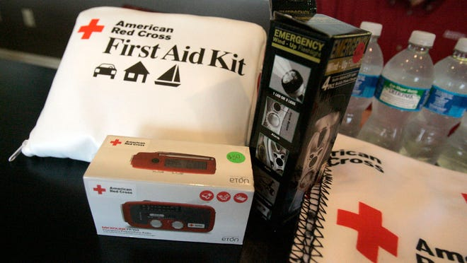 Having an emergency kit with three days of supplies is the first step in preparedness for a large-scale disaster, officials say.