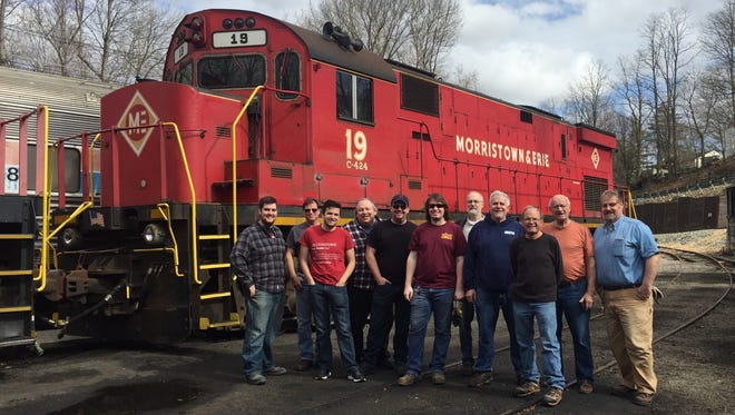 Tri-State Railway Historical Society just acquired Morristown & Erie Railway locomotive No. 19 for historic preservation.