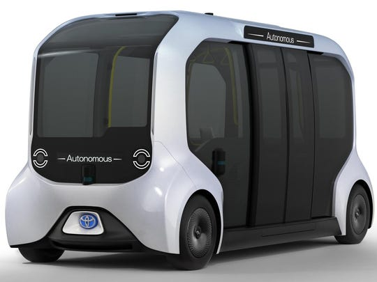 More than a dozen autonomous driving vehicles, which Toyota calls e-Palette, will run on a continuous loop within the Olympic and Paralympic Village to shuttle athletes and staff.