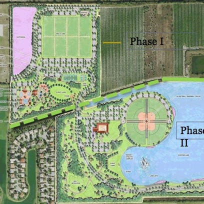 Rendering of Big Corkscrew Island Regional Park.