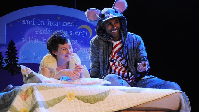 """Flat Rock Playhouse cast members Macy Sullivan and Gerald Avery rehearse a new version of """"The Nutcracker,"""" choreographed by Chase Brock, in this Nov. 20, 2012, file photo. Brock also choreographed the Broadway hit """"Spider-Man: Turn Off the Dark,"""" in which Avery played an evil mutant, Swarm."""