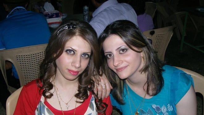Ruaa (right) and Sari Klontz enjoy their time together.