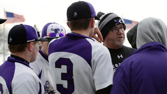 Fremont Ross coach Mark King has a tough exterior, but his players love to earn his respect.