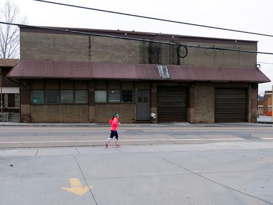 The Dempster Building at 609-611 N. Central St. on