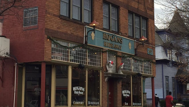 Hogan's Hideaway at 197 Park Ave. shown in 2014.