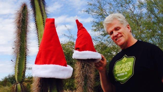 Columnist Dave DeLand enjoys some holiday festivities on Christmas Day in Scottsdale, Arizona.