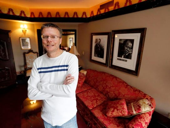 Hotel Pattee owner Jay Hartz stands in the hotel's