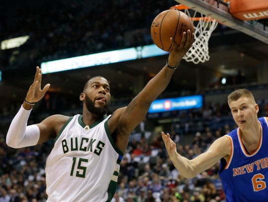 Center Greg Monroe had a  great debut for the Bucks,
