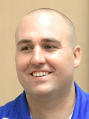 Spring Grove football coach Kyle Sprenkle.