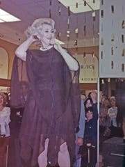 Mary Rust shares a photo she took of Zsa Zsa Gabor when she appeared in Bremerton. Gabor, 99, died earlier this month.