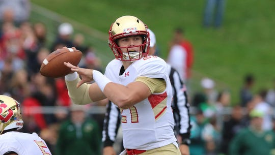 Bergen Catholic quarterback Johnny Langan announced