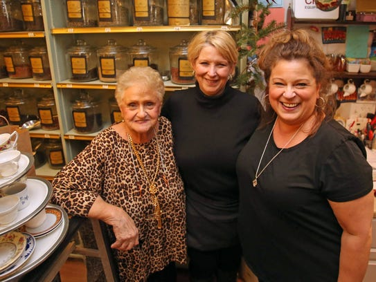 From left, Anna Almond, Edi Raiano, and Gina Aurisicchio
