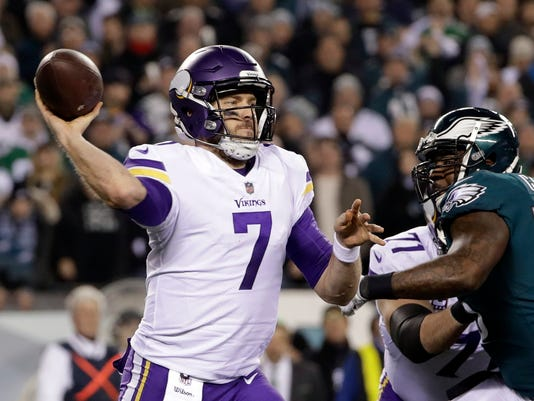 930229955 Vikings GM  Still evaluating complicated QB situation