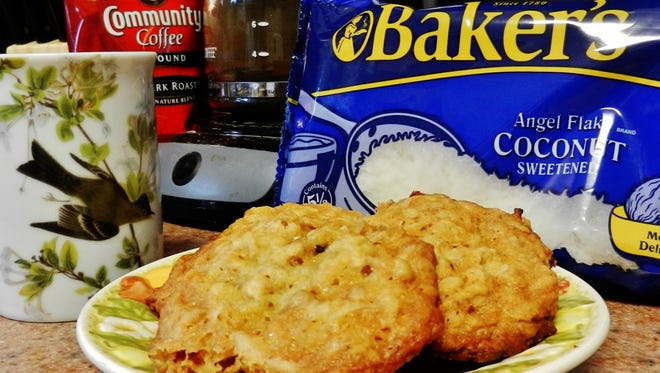 The Happy Baker's honey coconut cookies offer a sweet alternative to baking with sugar.