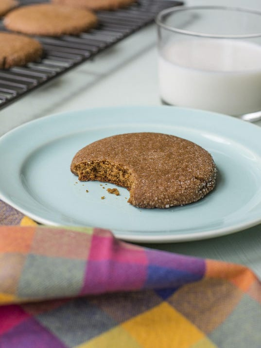 Food Deadline Chewy Molasses Cookies