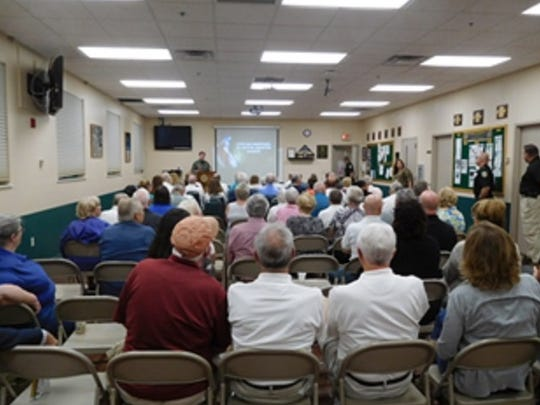 More than 75 Citizen's Academy alumni attended the most recent class, 'Citizen's Response to an Active Shooter.'
