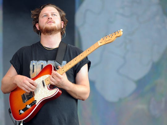 British band Alt-J performs on July 21, 2013 at the