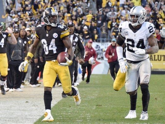 Antonio Brown, Charles Woodson