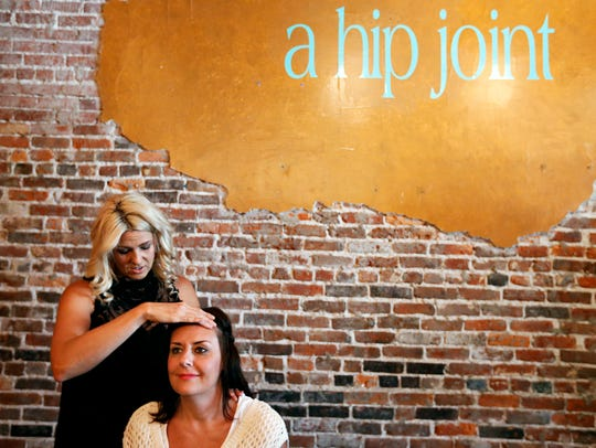 Tania Reavis, one of the co-owners of A Hip Joint,
