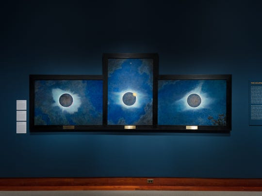 """In preparation for, and celebration of, the so-called """"Great American Total Solar Eclipse,"""" the Princeton University Art Museum hosts the exhibition """"Transient Effects: The Solar Eclipses and Celestial Landscapes of Howard Russell Butler."""""""