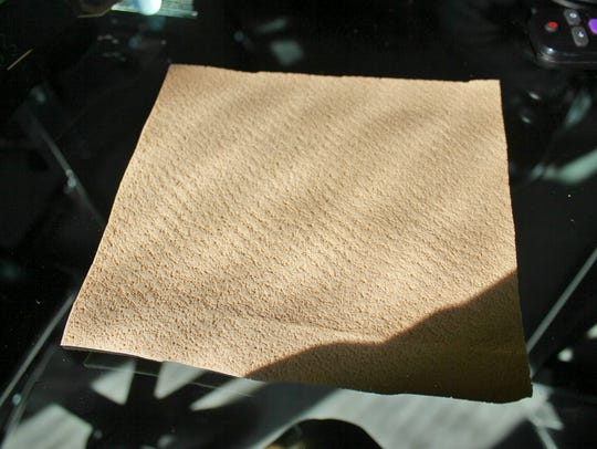 This is a sheet of SolarCore, an insulating material