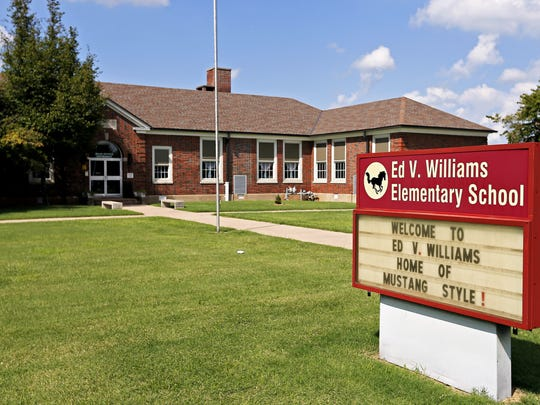 A list of potential long-term projects recommends developing cost estimates to either renovation or rebuilt Williams Elementary.
