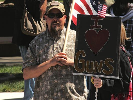 Carson City pro gun rally