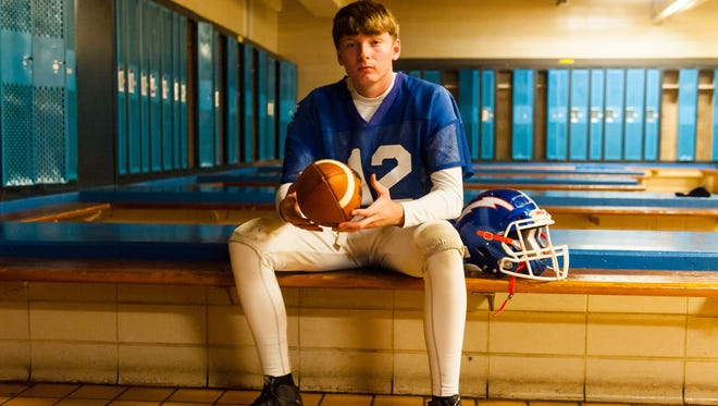 Millville quarterback Tristan Harris has already broken school records for single-season yardage and completions while tying the mark for touchdowns. He'll lead the Thunderbolts against Toms River North in the South Jersey Group 5 final on Saturday.