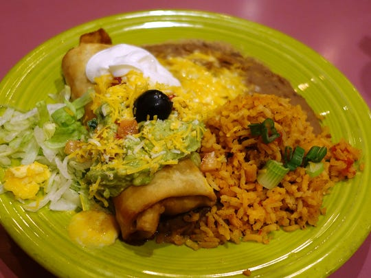 Trailing the Pack: Beef Chimichanga at Manuel's Mexican