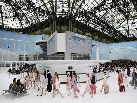 For his Chanel 2016 Spring/Summer ready-to-wear fashion