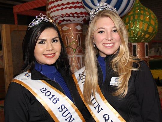 Stephanie Figueroa, left, and  Katherine Carroll-Miller