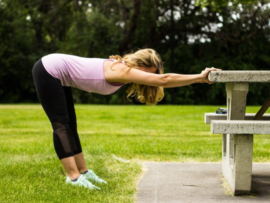 Lower back , hip opener and hamstring stretch also