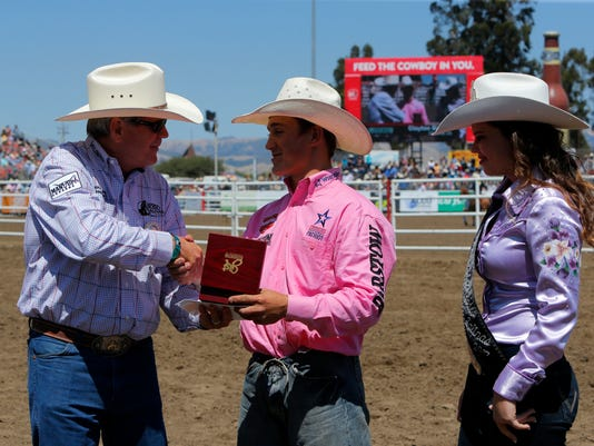 Salinas Buckles Go To New Rodeo Champs