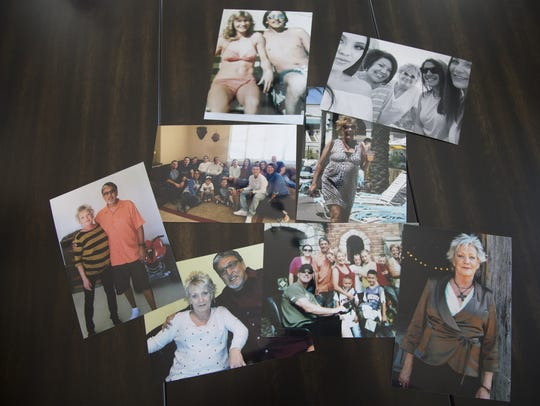 Pictures of Rita Ortiz from her family.