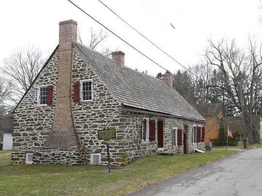 The Abraham Hasbrouck House at Historic Huguenot Street in New Paltz on April 13, 2018.