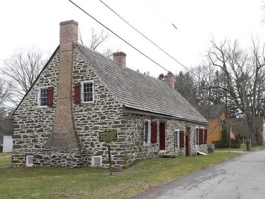 The Abraham Hasbrouck House at Historic Huguenot Street