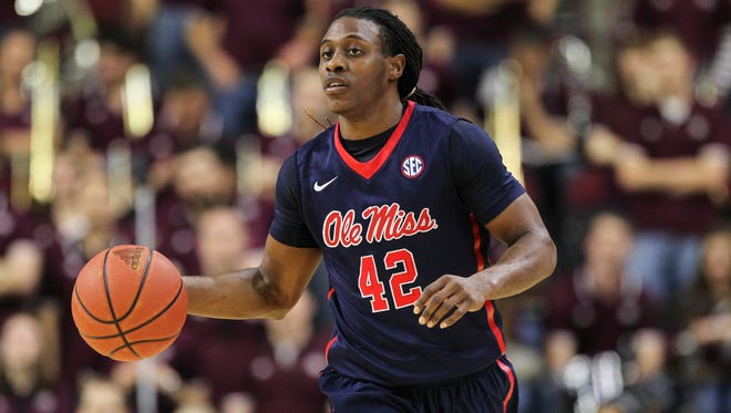 Guard Stefan Moody is shooting 25 of 90 (27.8 percent) from the field and 14 of 53 (26.4 percent) from 3-point range over the past five games.