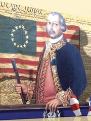 Gen. Bernardo de Galvez, governor of Spanish Louisiana raised an army of New Spaniards, Native Americans and Tejano vaqueros to join Gen. George Washington in the fight against the British. Galveston was named in his honor and he was the hero of the Battle of Pensacola.