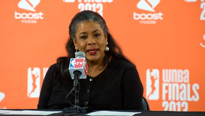 WNBA president Laurel Richie wants her sport to be covered as a fifth major pro sports league.