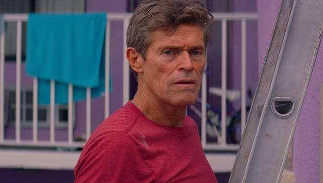"""Bobby (Willem Dafoe) manages the Magic Castle motel in """"The Florida Project."""""""