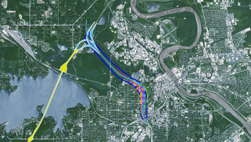I-49 connector options whittled down to four