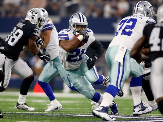 NFL: Oakland Raiders at Dallas Cowboys