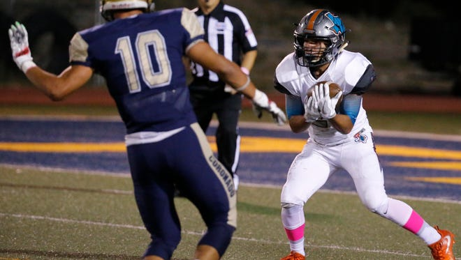 Pebble Hills looks to remain unbeaten on the gridiron Thursday night when it takes on Socorro at the SAC.